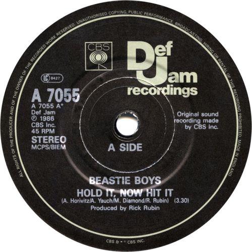 Beastie Boys Hold it now, hit it single