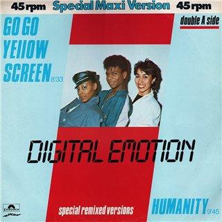 Digital Emotion - Go go yellow screen / Humanity