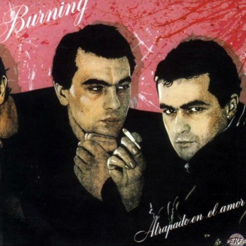 burning atrapado en el amor album