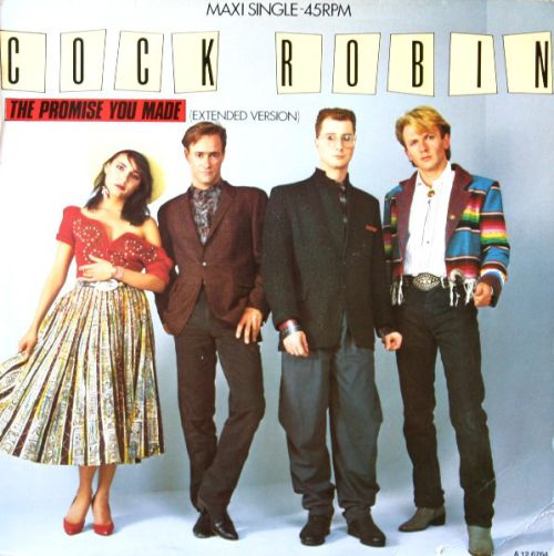 cock robin the promise you made single