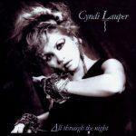 cyndi lauper all through the night single