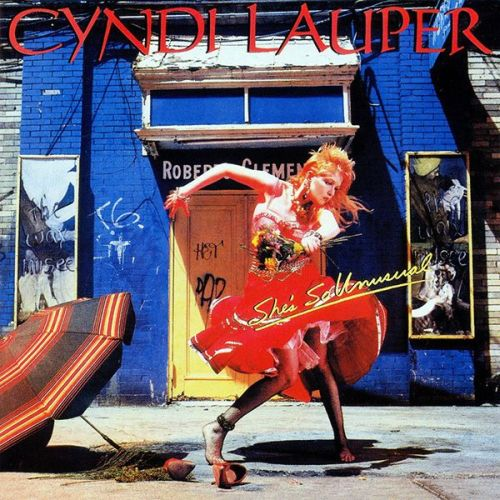 cyndi lauper she's so unusual album