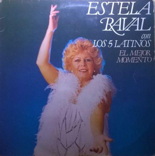 estela raval y los 5 latinos el mejor momento album