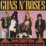 guns n roses sweet child o'mine single