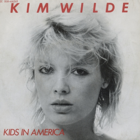kim wilde kids in america single