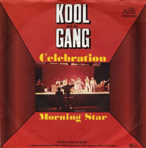 kool and the gang celebration moring star single