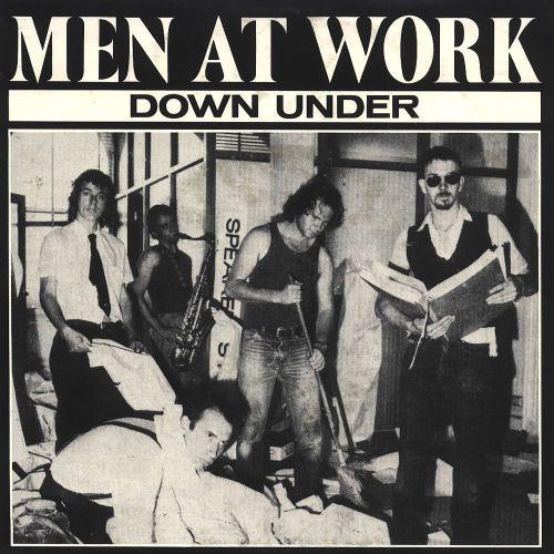 men at work down under single