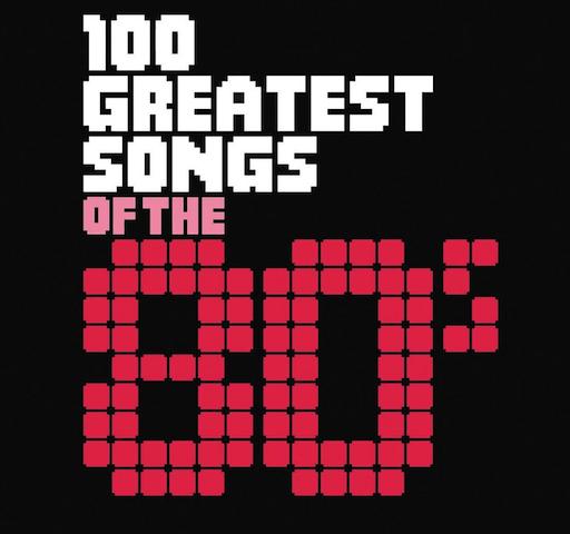 top 100 canciones años 80