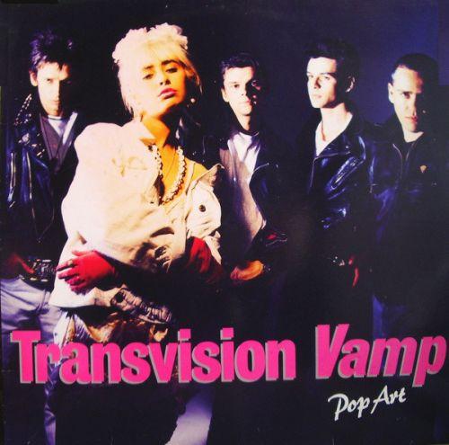 transvision vamp pop art album